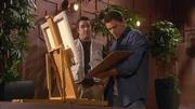 Evan painting