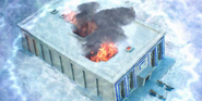 Temple of Aset burned