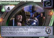 Construct Anti-Replicator Weapon