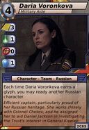 Daria Voronkova (Military Aide)