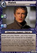 Malek (Outpost Commander)