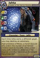 Ishta (Leader of the Hak'tyl Resistance)