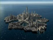 An Ancient City Ship