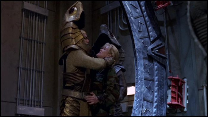 Apophis' attack on Stargate Command