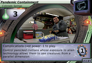 Pandemic Containment