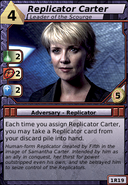 Replicator Carter (Leader of the Scourge)