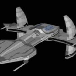 Asgard Ship Jack O'Neill (paper model by Jaybats)