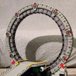 Stargate (Lego model by Kelly McKiernan)