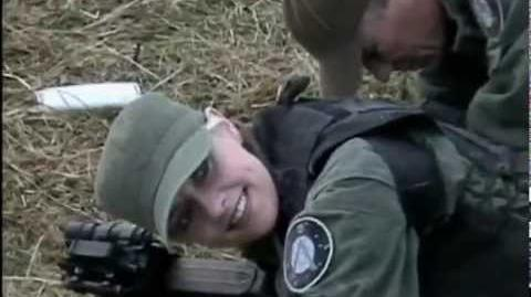 STARGATE SG-1 Behind the scenes by Amanda Tapping