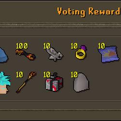 Voting Rewards Store