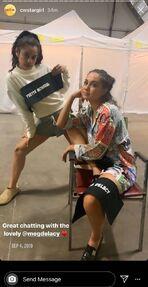 Yvette Monreal IG Takeover BTS 02