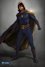 Hourman Concept Art