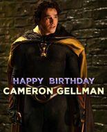 Happy Birthday Cameron GellmanPoster