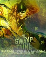 Stargirl Poster Promoting Swamp Thing on the CW