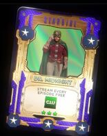 Dr Midnight Stargirl Trading Card Typo