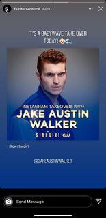 Jake Austin Walker IG Takeover 29
