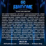 DC Fandome Announced Guest Initial One Day Event Poster