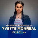 Yvette Monreal IG Takeover Announcement