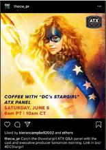 Coffee with DC's Stargirl ATX Panel