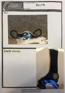 Volta Costume bible p09 belt boot cover