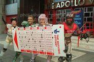 Lottery promo London 1