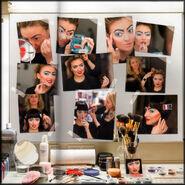 Coco Backstage makeup b18