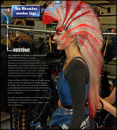 Joule b14 Victoria Anderson backstage