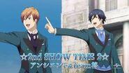 「スタミュ」(第2期) ☆2nd SHOW TIME 2☆ アンシエント&team柊 CM