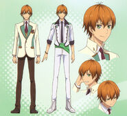 Hoshitani's Character Design 1