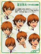 Character Design in PASH! Magazine Aug '15 - Hoshitani