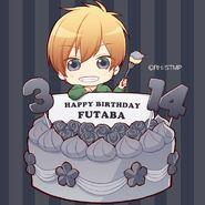 Twitter Birthday Card by Aokita Ren (21a)