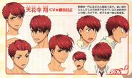 Character Design in PASH! Magazine Aug '15 - Tengenji