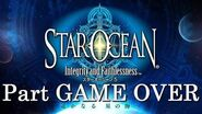 Game over in Star Ocean - Integrity and Faithlessness (ENG)