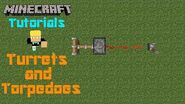 Minecraft Tutorials w Ben Turrets & Torpedoes (SQ)-2