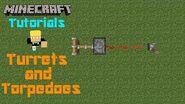 Minecraft Tutorials w Ben Turrets & Torpedoes (SQ)-0