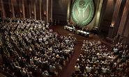 El Consejo Federal en sesión en la Asamblea General