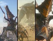 Bichos de Traidor de Marte (cuadros)