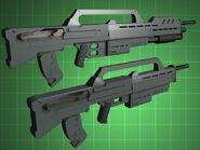 Variantes de Carabina y Rifle Morita