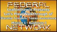 Walkthrough - Mission 1- Bughouse I