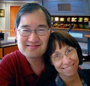 Michael and Denise Okuda