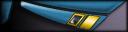 Uniform lapel rank insignia image.