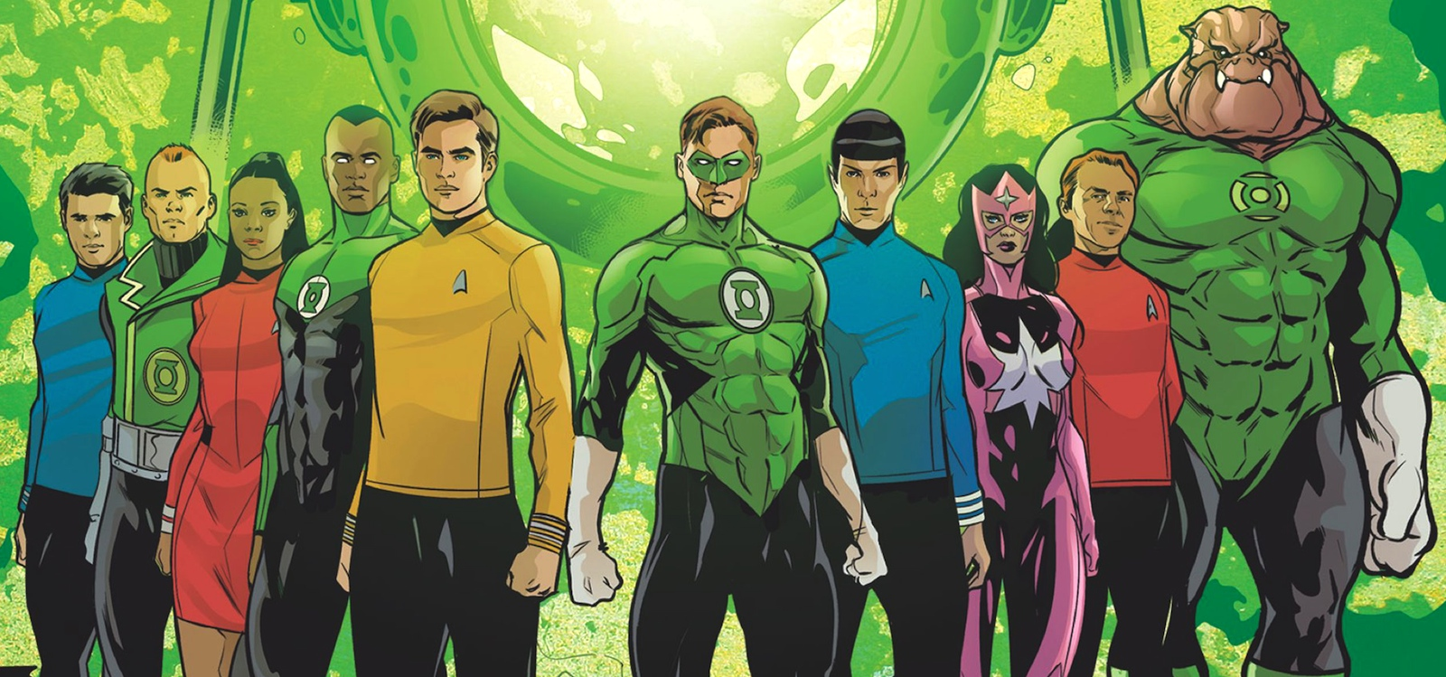 Green Lanterns & Enterprise crew.jpg