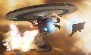 Federation-Maqui space skirmish