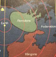 Map Romulan Empire