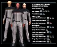 SF cadet dress uniform