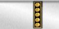 Uniform collar insignia.