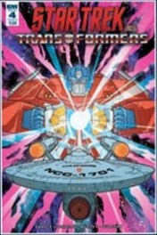 Star Trek vs. Transformers, Issue 4