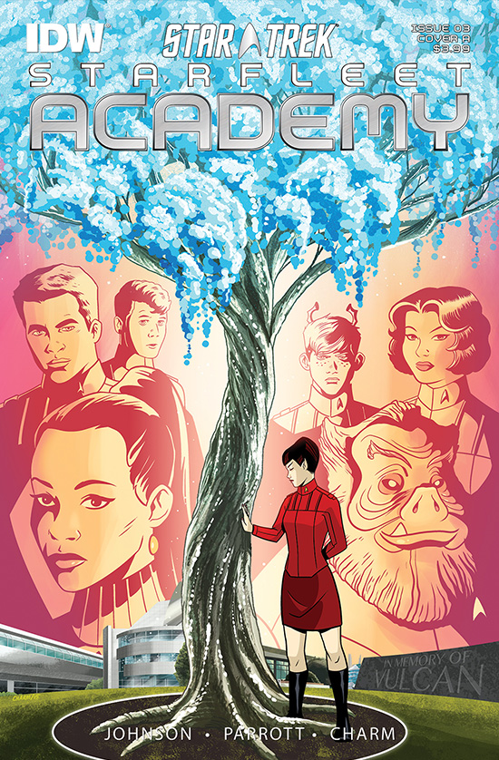 IDW Starfleet Academy, Issue 3