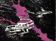 Kepler departing Endeavor