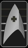 Starfleet Ranks 2250s Medical Division - Cadet Sophomore